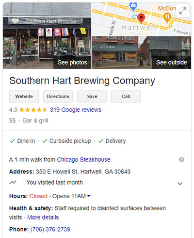 Google Business Preview