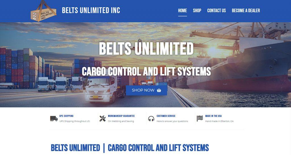 Belts Unlimited Website